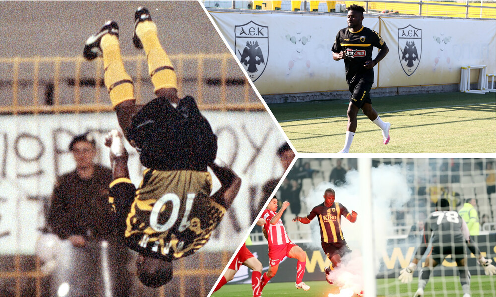 AEK: «Διαμάντια» και... άνθρακες από την Αφρική! (videos+photos)