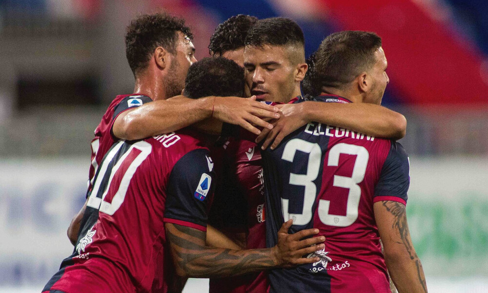 Serie A: Ασίστ ο Λυκογιάννης, «τρίποντο» η Κάλιαρι (video)