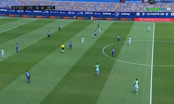 La Liga: Τεσσάρα της Λεβάντε απέναντι στην Μπέτις (video)