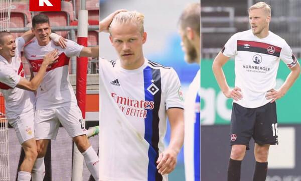 Bundesliga 2: Διασυρμός για το Αμβούργο, στα μπαράζ με Βέρντερ η Χαϊντενχάιμ (videos)