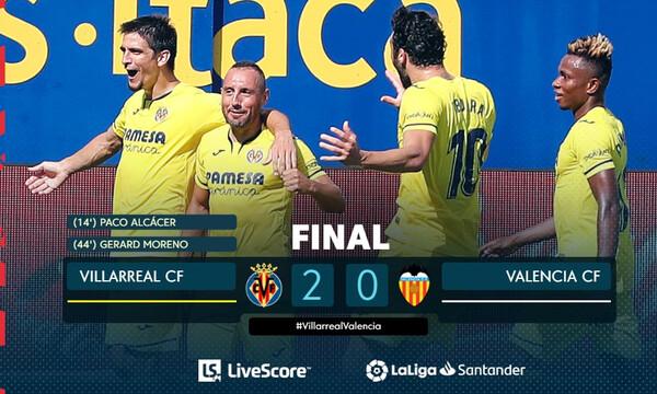 La Liga: Προελαύνει και «βλέπει» τετράδα η Βιγιαρεάλ (videos)