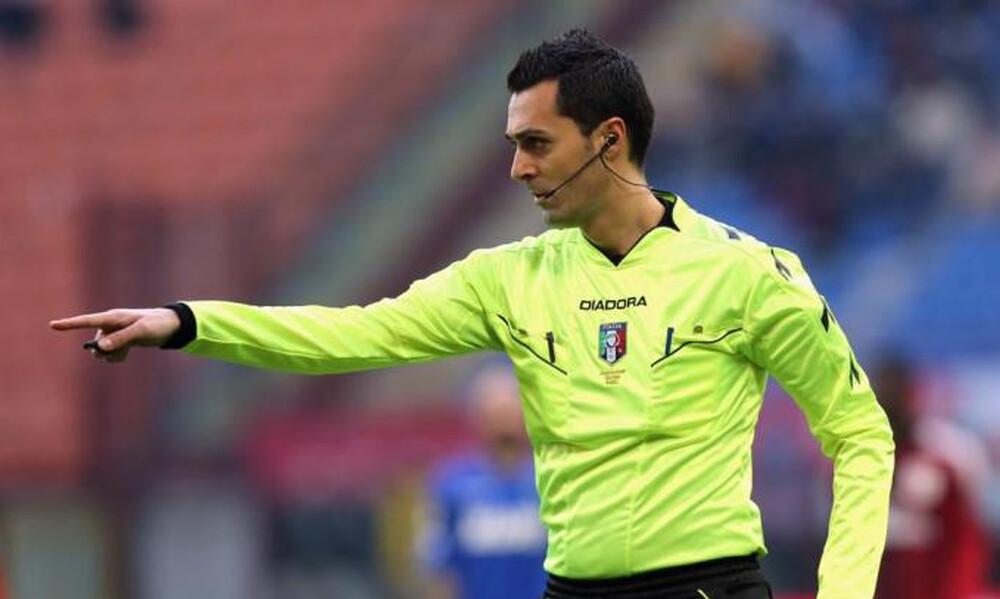 Super League 1: Ιταλός διαιτητής στο ΠΑΟΚ-ΑΕΚ