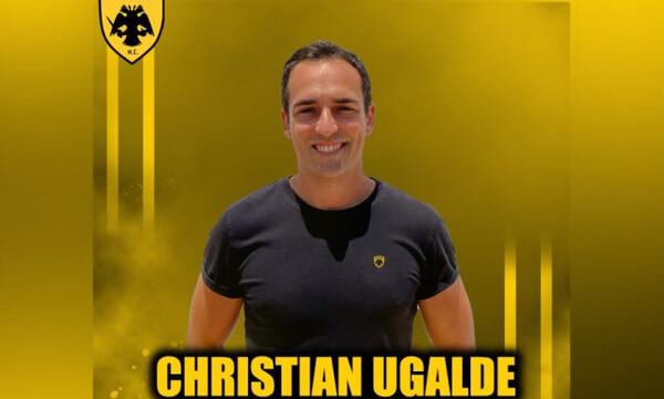«Βόμβα» έριξε η ομάδα χάντμπολ της ΑΕΚ με Κρίστιαν Ουγκάλδε!