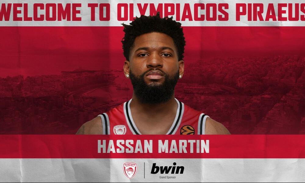 Ολυμπιακός: Ανακοίνωσε τον Χασάν Μάρτιν