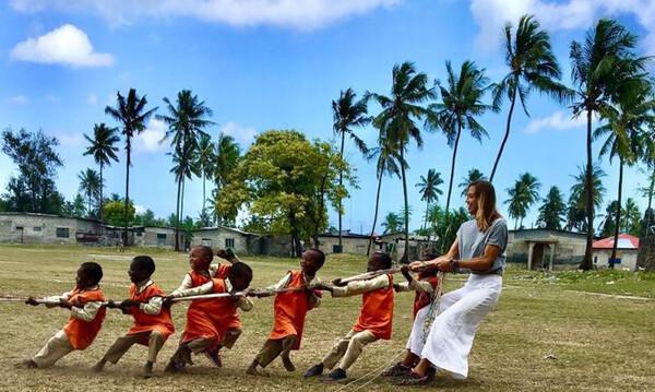Το ταξίδι της Παπαφωτίου στη Τανζανία αναβάλλεται για το καλοκαίρι του 2021!(photos)