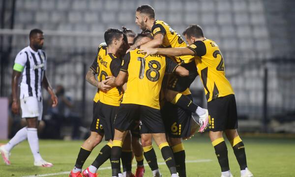 ΠΑΟΚ-ΑΕΚ 0-2: «Ένωση» για… Champions League στην Τούμπα!