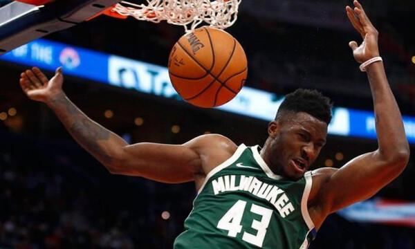 NBA: Το νέο λουκ του Θανάση Αντετοκούνμπο (photos)