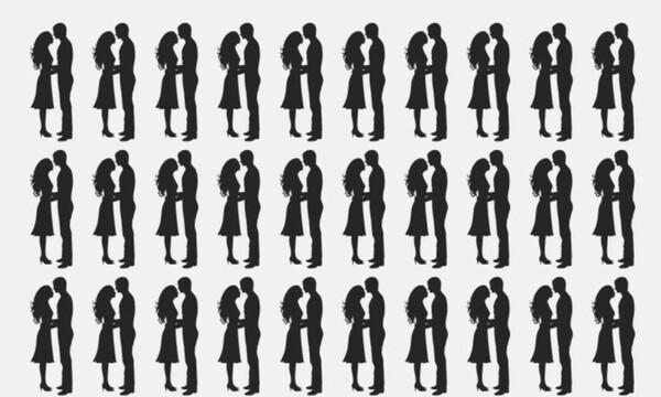 Ένα από τα ζευγάρια είναι διαφορετικά - Μπορείς να το βρεις;