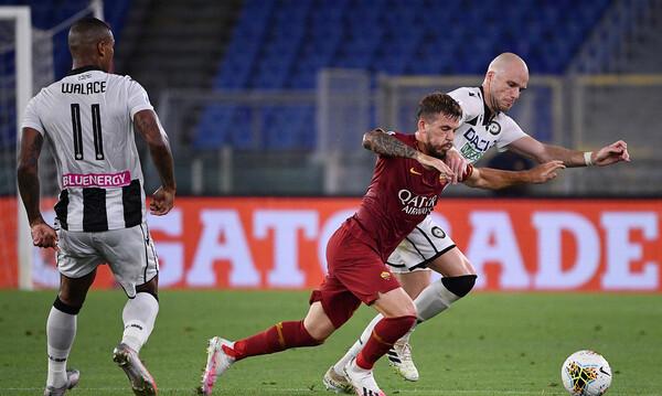 Serie A: Νίκη ανάσα για Ουντινέζε, χαστούκι για Ρόμα (video)
