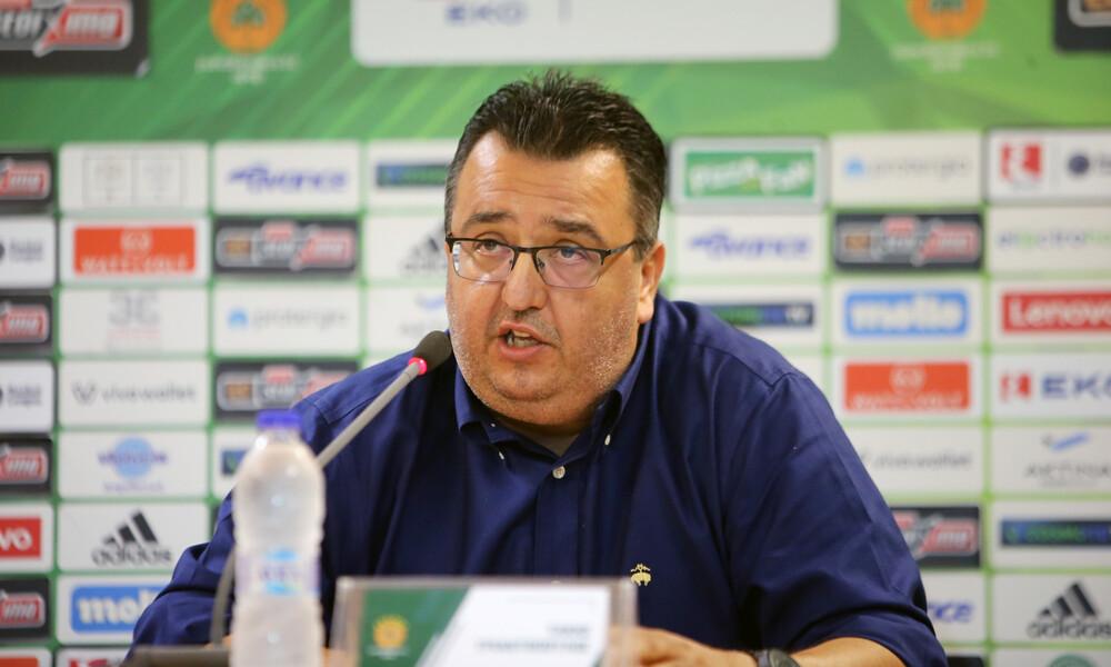 Τριαντόπουλος: «Είμαστε Παναθηναϊκός, δεν κάνουμε ποτέ πίσω»