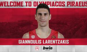 Ολυμπιακός: Στα «ερυθρόλευκα» ο Λαρεντζάκης