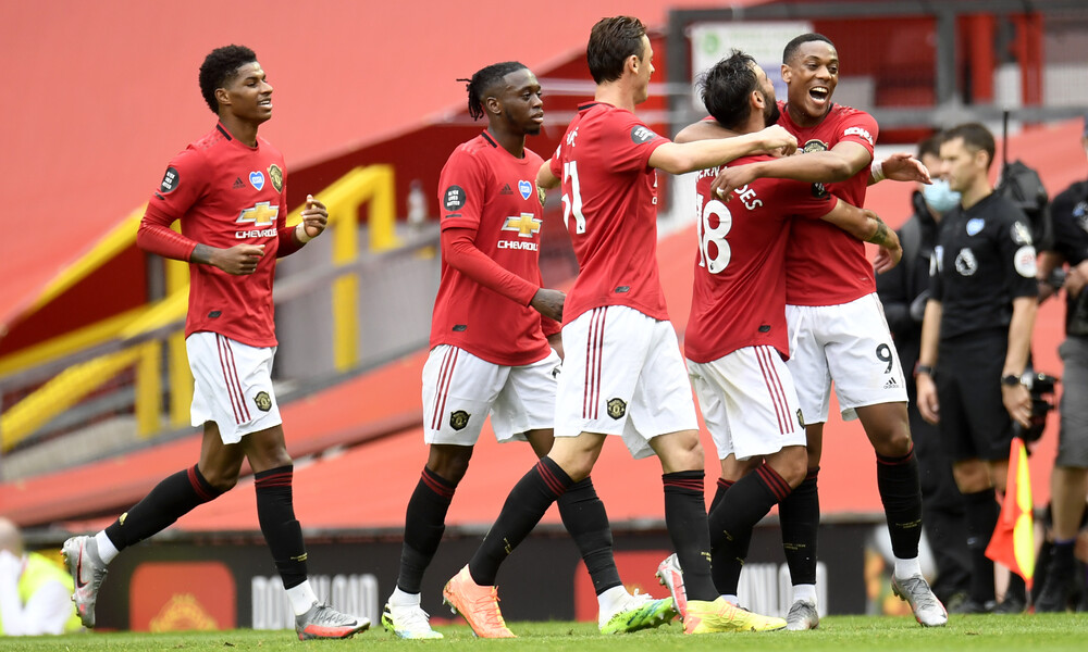 Premier League: Στην 4η θέση η Μάντσεστερ Γιουνάιτεντ με «πεντάρα» (videos)