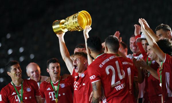 Απόλυτη κυρίαρχος! Σήκωσε και το Κύπελλο Γερμανίας η Μπάγερν (photos)