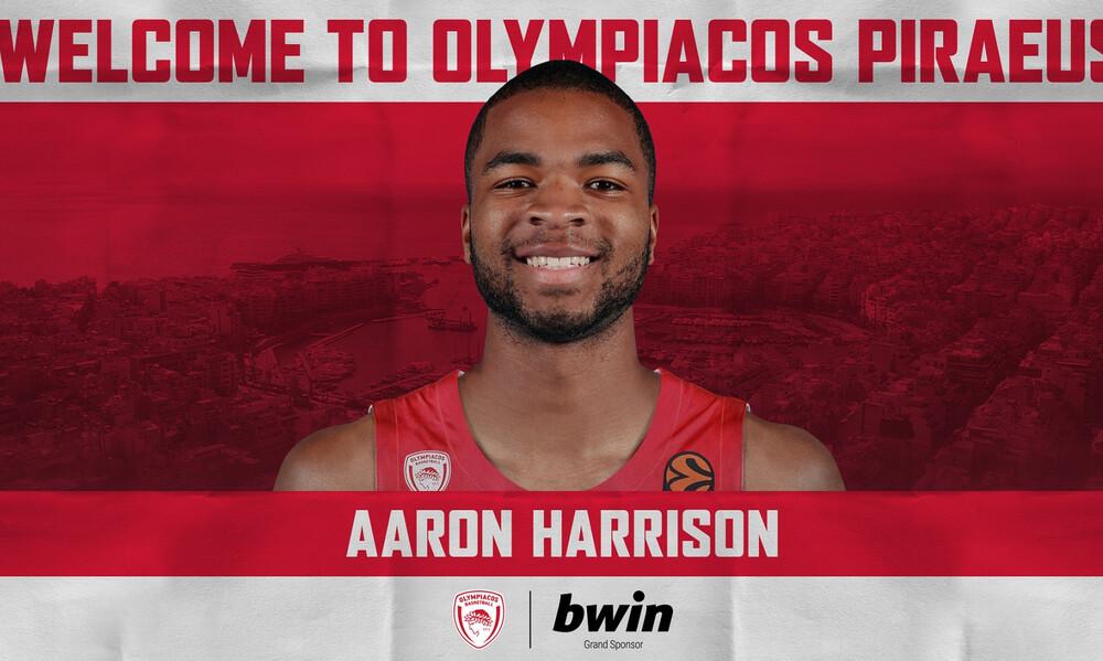 Ολυμπιακός: «Ερυθρόλευκος» και επίσημα ο Χάρισον