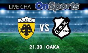 Live Chat ΑΕΚ-ΟΦΗ 2-0