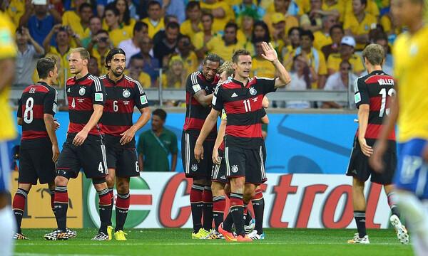 Βραζιλία-Γερμανία: Η τραγωδία του Μινεϊράο και το «πάρτι» των «πάντσερ» (video+photos)