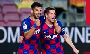 La Liga: Ο Σουάρες γλίτωσε την Μπαρτσελόνα και υποβίβασε την Εσπανιόλ (video)