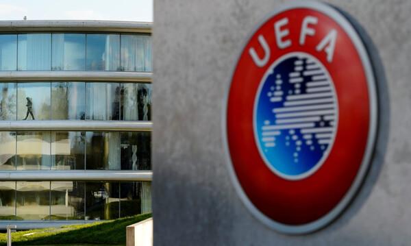 UEFA: Το πρωτόκολλο, οι κλειστές πόρτες και το VAR (photos)