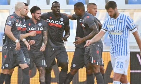 Serie A: «Αγκαλιά» με την παραμονή η Ουντινέζε (video)
