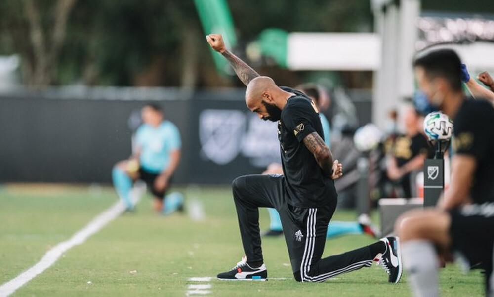 "MLS: Ο Ανρί γονάτισε για 8.46"" τιμώντας τον Τζορτζ Φλόιντ (video)"