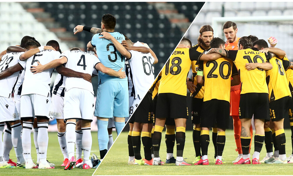 Super League: «Μάχη» για τη 2η θέση - Το πρόγραμμα ΠΑΟΚ και ΑΕΚ (photos)