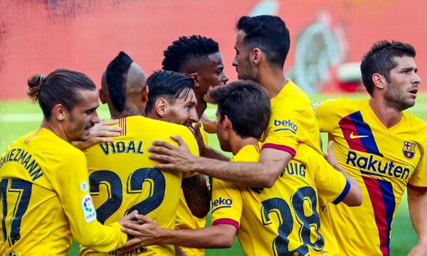 La Liga: Συνεχίζει να ελπίζει η Μπαρτσελόνα (videos)