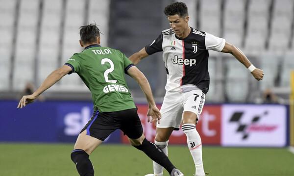 Serie A: Ο Ρονάλντο κράτησε ζωντανή τη Γιουβέντους (video)