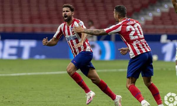 La Liga: Και μαθηματικά στο «σεντόνι» η Ατλέτικο (video)