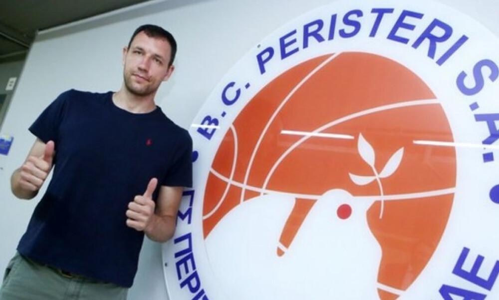 Μαυροκεφαλίδης: «Υγεία και καλή πορεία με το Περιστέρι»