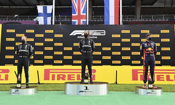 Formula 1: «Χόρεψε» στην Αυστρία ο Χάμιλτον, τα έκανε «μαντάρα» η Ferrari (video+photos)