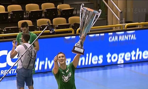 Ρεσιτάλ Πελεκούδα μετά το πρωτάθλημα του Παναθηναϊκού (videos+photos)