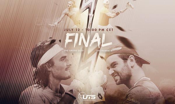 Στον τελικό του UTS ο Στέφανος Τσιτσιπάς (photos+video)