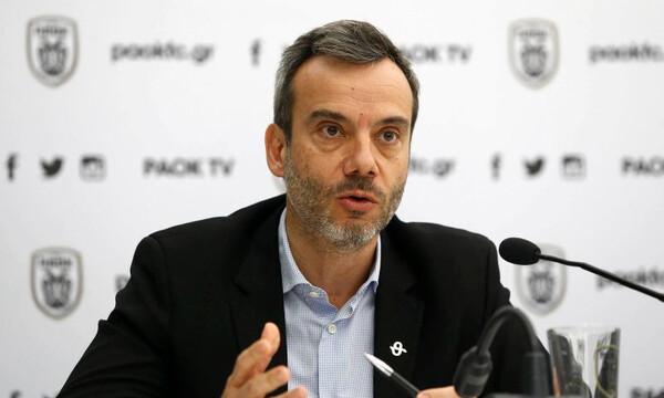 Δήμαρχος Θεσσαλονίκης: «Χάρηκα για τη νίκη του ΠΑΟΚ στο Φάληρο» (video)