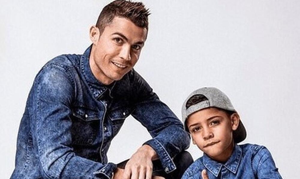 Μπλεξίματα με την αστυνομία για τον 10χρονο γιο του Κριστιάνο Ρονάλντο (vid)