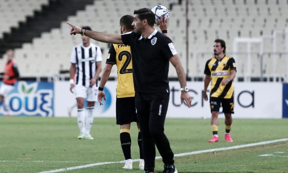 ΑΕΚ-ΠΑΟΚ: Έξαλλος ο Φερέιρα με το διαιτητή (photos)