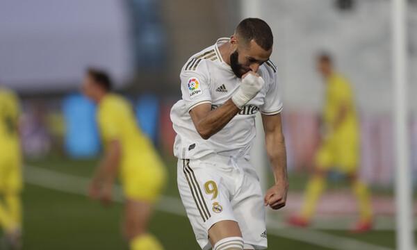 La Liga: Ο Μπενζεμά ξαναχτυπά και η Ρεάλ «αγκαλιά» με την κούπα (video)