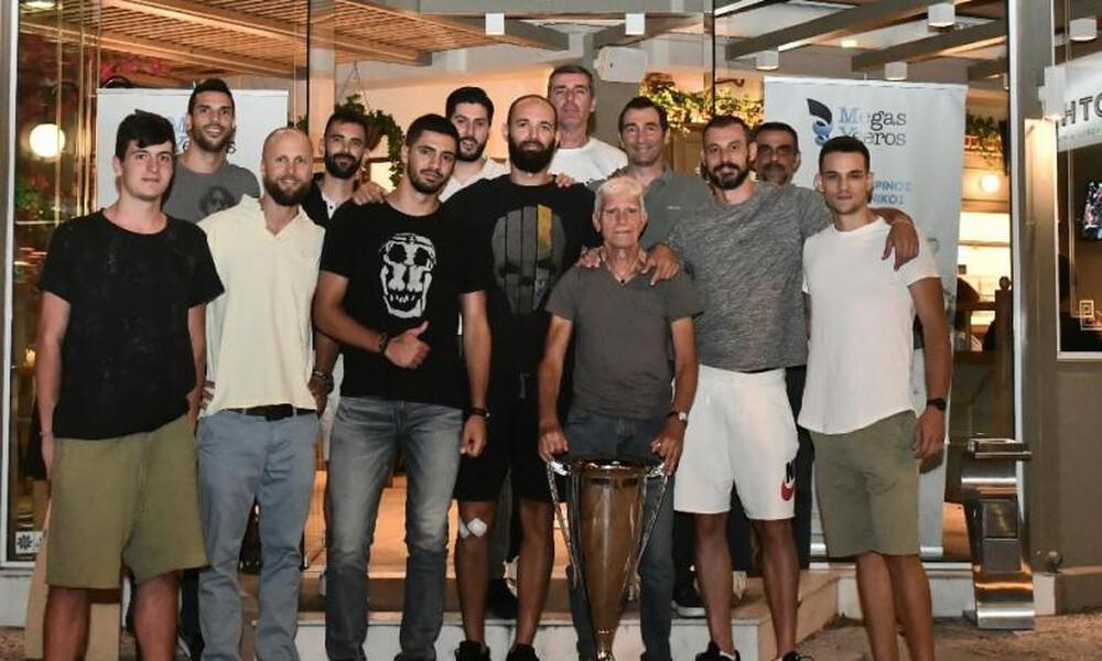 Παναθηναϊκός ΑΟ: Το δείπνο των πρωταθλητών! (photos)