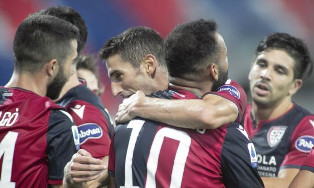 Serie A: Βαθμό με 10 παίκτες η Κάλιαρι (video)