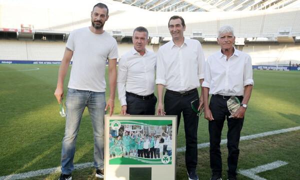 Παναθηναϊκός-ΟΦΗ: Τιμήθηκαν οι πρωταθλητές του βόλεϊ (photos)