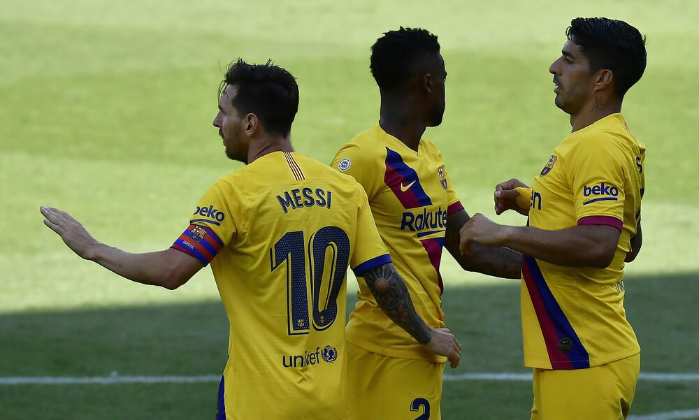 La Liga: Ξέσπασε στην Αλαβές με «πεντάρα» η Μπαρτσελόνα (videos)