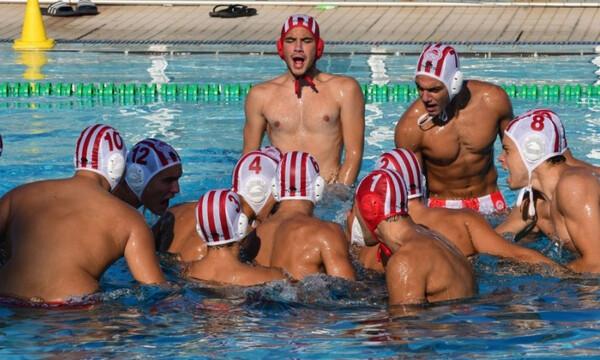 Κορυφή στους Νέους Άνδρες για τον Ολυμπιακό μετά τη νίκη με 9-5 επί του ΝΟΒ