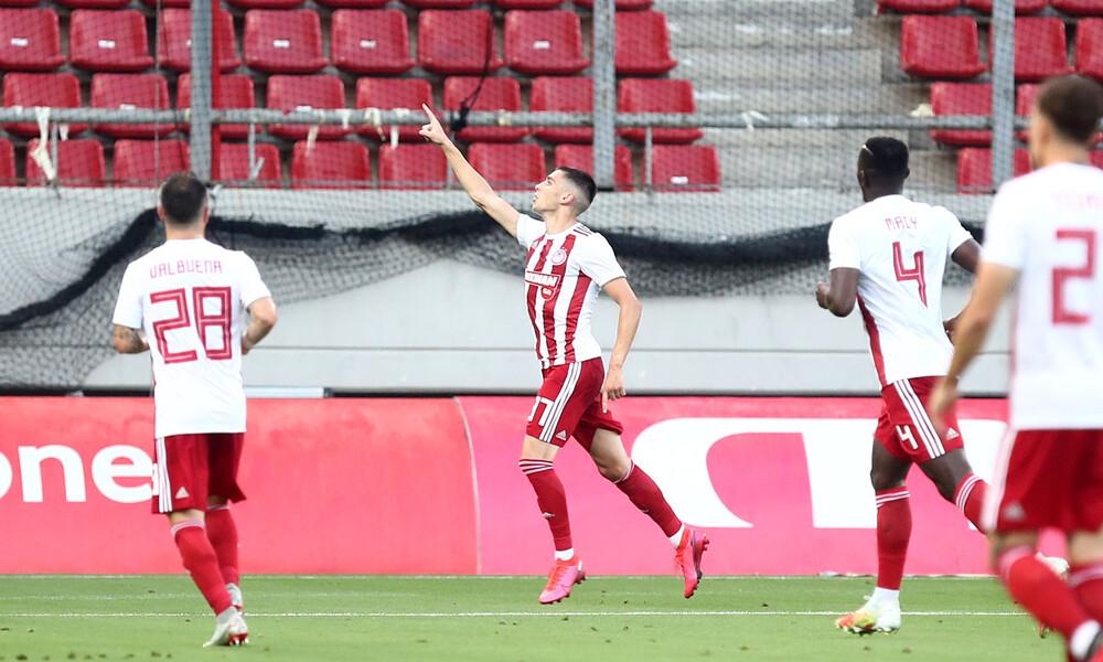 Ολυμπιακός-ΑΕΚ: Τρομερό γκολ από Ραντζέλοβιτς! (photos)