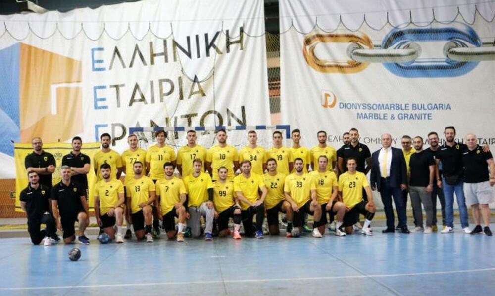 ΑΕΚ χάντμπολ: Επέλεξαν νούμερα οι Πρωταθλητές!
