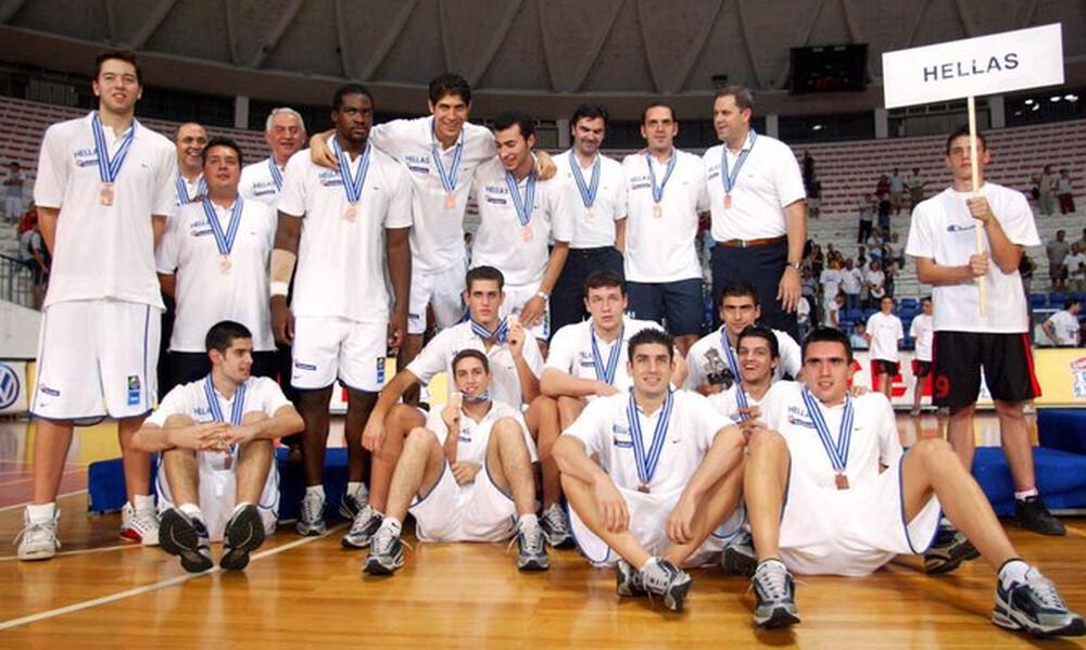 Η ΕΟΚ θύμισε το χάλκινο μετάλλιο της Εθνικής Εφήβων το 2003
