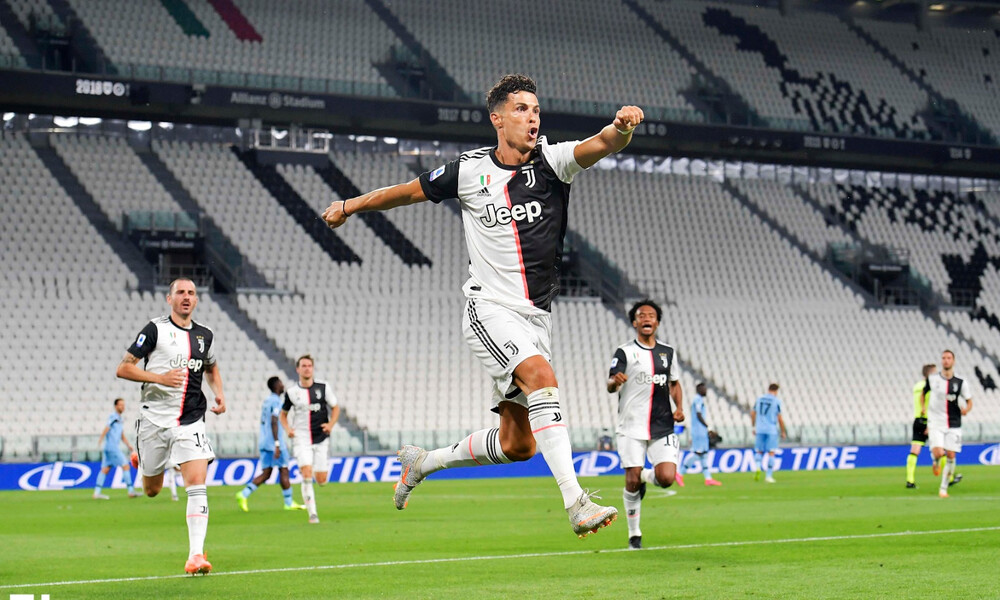 Serie A: Εντυπωσιακά ρεκόρ ο Ρονάλντο, «αγκαλιά» με τον τίτλο η Γιουβέντους!
