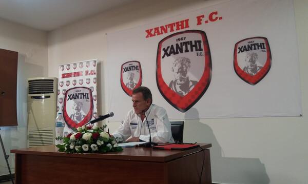 «Βόμβα» Πανόπουλου: «Φεύγω από την Ξάνθη και το ποδόσφαιρο»