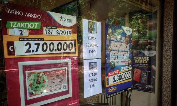 ΣΚΡΑΤΣ: Κέρδη 2.287.556 ευρώ την προηγούμενη εβδομάδα