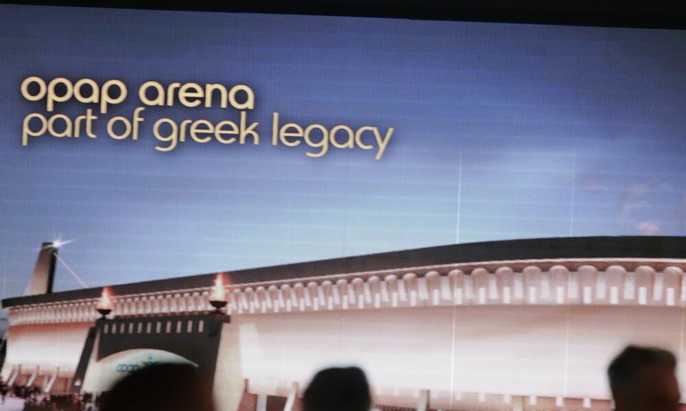 AEK: Και εγένετο ΟΠΑΠ Αρένα (video+photos)