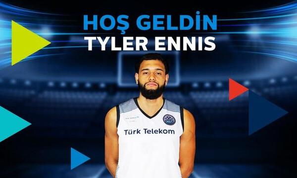 Τουρκ Τέλεκομ: Ανακοίνωσε τον Τάιλερ Ένις (video)