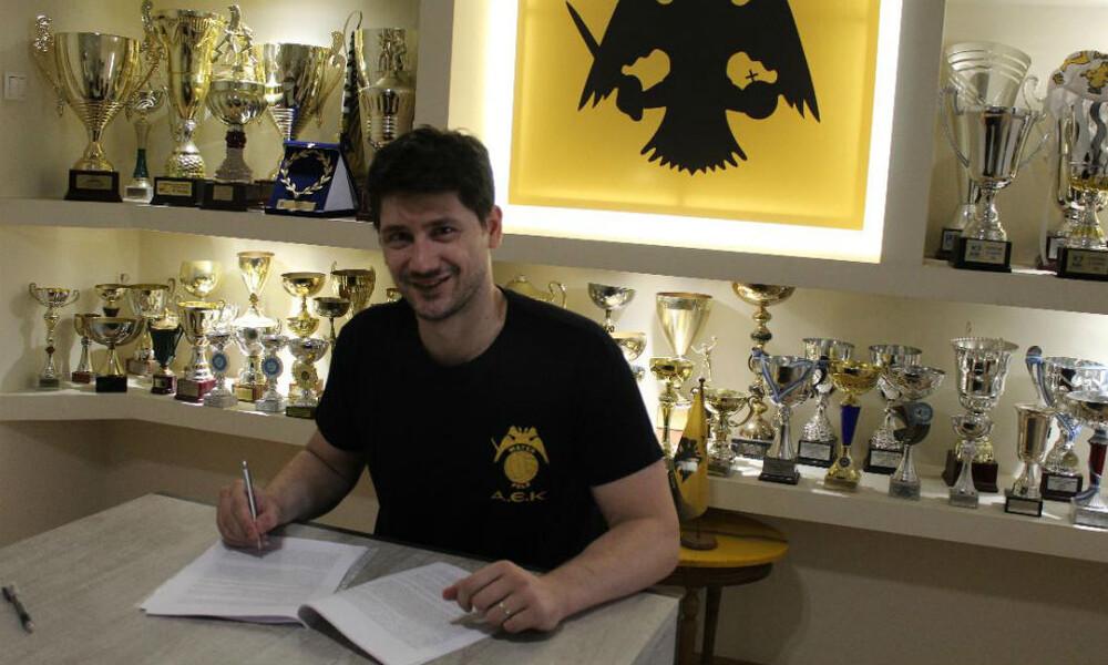 Πόλο: Τον «φύλακα» των γκολποστ, Κωνσταντίνο Φλέγκα απέκτησε η ΑΕΚ